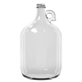128 oz A0128-08-38-400 Handle Jug Flint Growler 4 PK