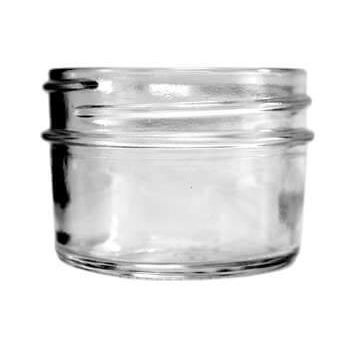 4 oz A0004-07 70-450 CT Tapered Bottom Jelly Jar 12PK