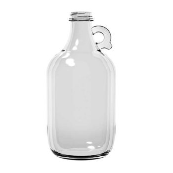 64 oz A1168-00 38-400 Handled Jug Flint Growler 6 PK A1168-00