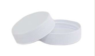 38CT Plastic White Matte F217 Lid  Minimum Order 500 Count